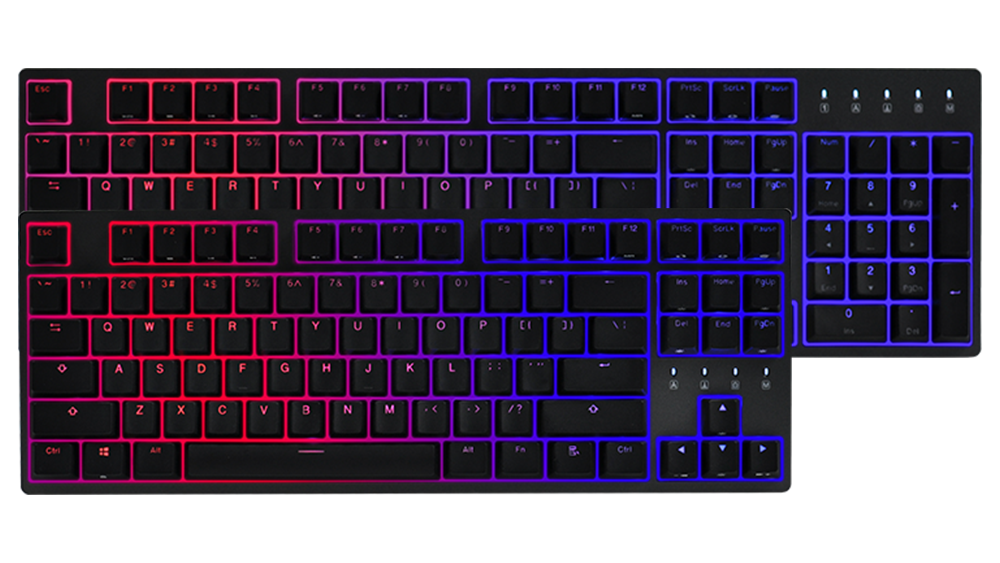 TAURUS K310/K320  Aurora(LED-Red & Blue)Mechanical Keyboard